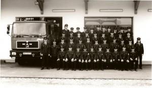 Mannschaft zur Einweihung 1995
