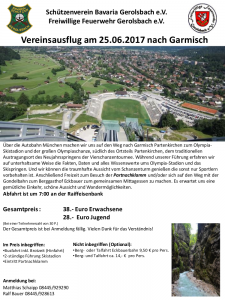 Vereinsausflug 2017